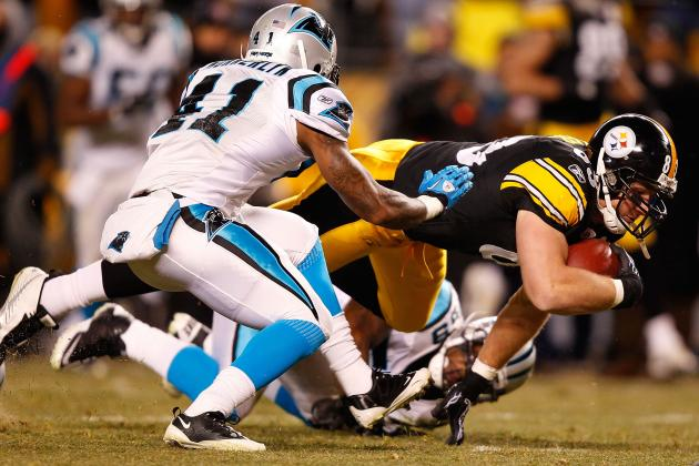 Steelers vs. Panthers: TV Info, Spread, Injury Updates, Game Time and More