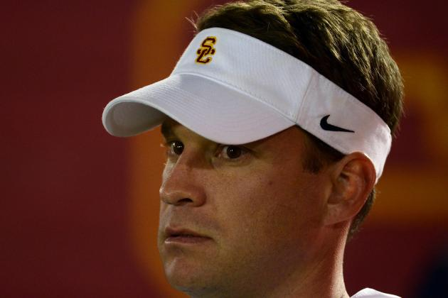 Lane Kiffin Knows Who Will Start at QB, but He Isn't Saying