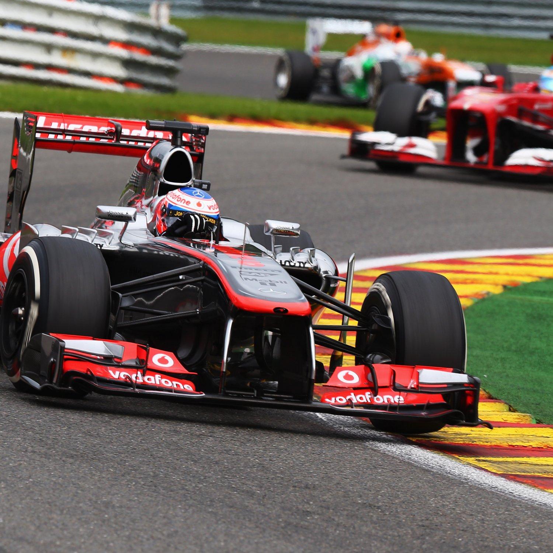 Formula  Car Driving Upside Down