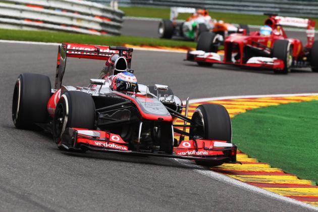 Can a Formula 1 Car Drive Upside Down?