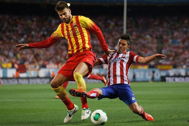 Spanish Super Cup 2013: Barcelona vs. Atletico Madrid Preview and Prediction