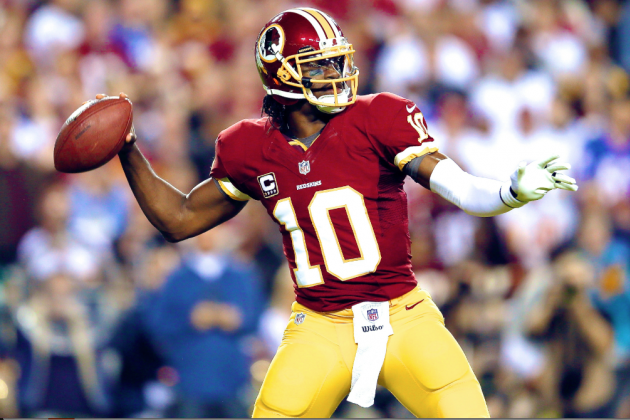 Robert Griffin III Named Starter for Week 1 vs. Philadelphia Eagles