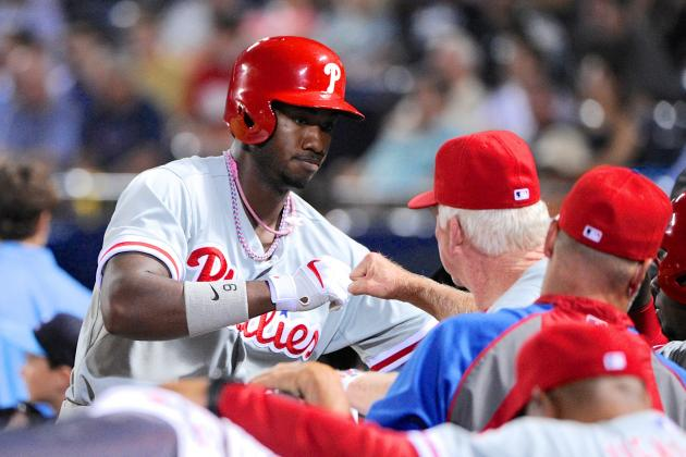 Phillies Notebook: Slow, sure for Domonic Brown