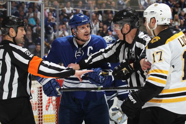 Phaneuf Determined to Stay Free of Distractions