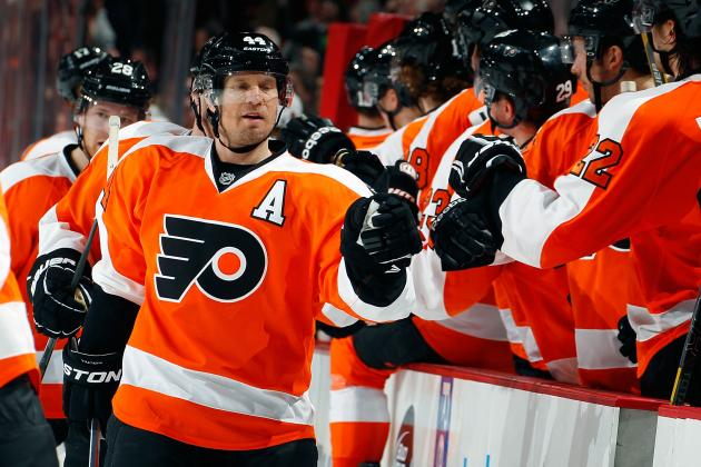 Flyers' Timonen Open to Playing Past This Season