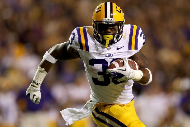 Don't Expect LSU RB Jeremy Hill to Top the Depth Chart Anytime Soon