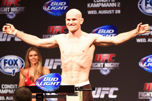 UFC Fight Night 27 Weigh-In Results: Condit vs. Kampmann II Fight Card