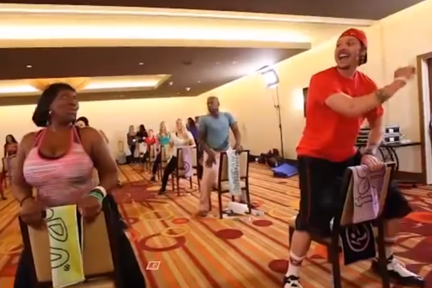 Memphis Grizzlies SG Mike Miller Gets His Zumba on for Offseason Training