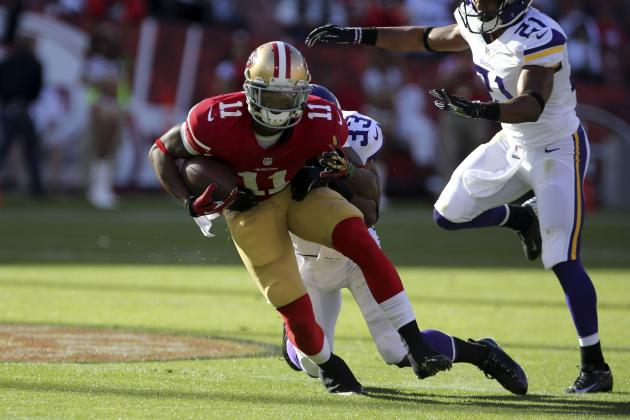 San Francisco 49ers: Will Quinton Patton Be the Team's No. 2 Wide Receiver?