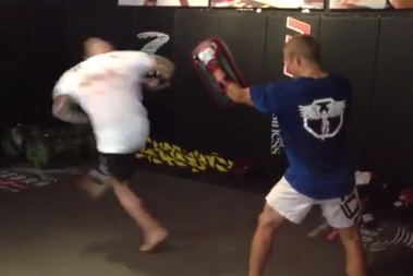 Note to Self: Don't Get Kicked by Joe Rogan