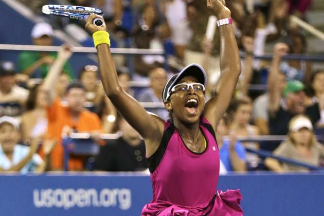 Victoria Duval and Father Jean-Maurice Showcase Inspiring Story at 2013 US Open