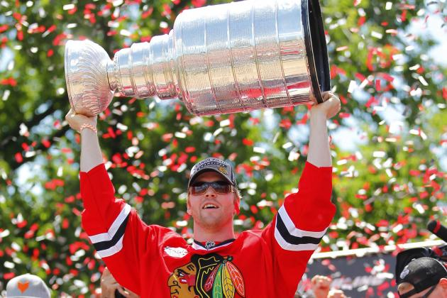 Bryan Bickell's Day with the Stanley Cup
