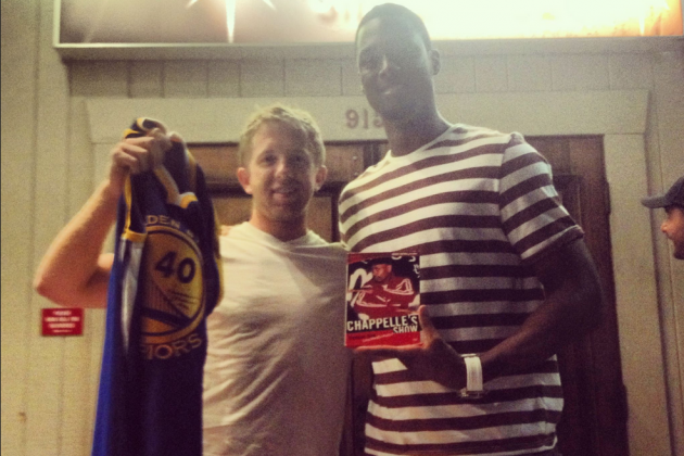 Harrison Barnes Rewards Fan with Jersey in Exchange for Dave Chappelle DVD
