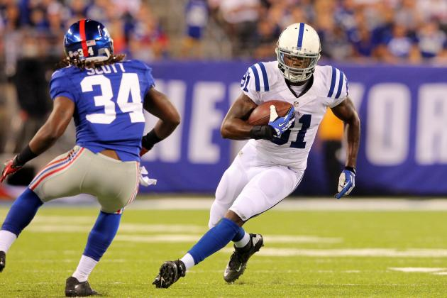 Why Is Darrius Heyward-Bey Starting over T.Y. Hilton at Receiver for the Colts?