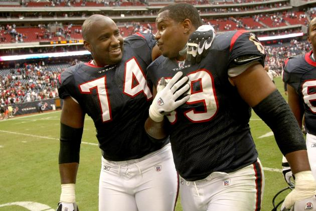 Former Texans Pitts, Salaam to Compete on 'The Amazing Race'