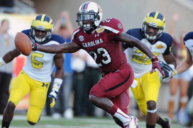 South Carolina's Options at WR If Bruce Ellington Can't Go vs. North Carolina