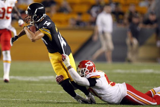 Pittsburgh Steelers: Why Derek Moye Has Edge over Justin Brown in WR Battle