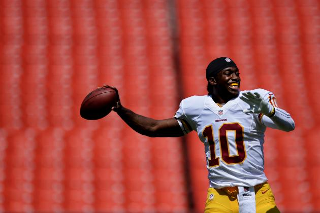 Robert Griffin III's Health Drastically Changes Balance of Power in NFC East