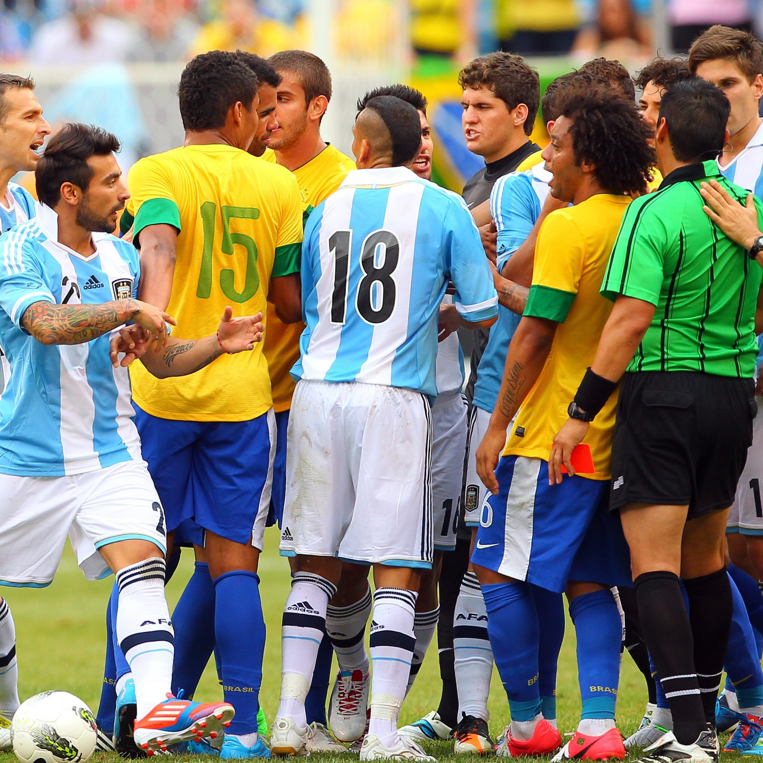 Who And Where Are Brazil Playing This Month And Who Is In: Argentina Vs. Brazil: Playing Out The Rivalry In 8 Matches