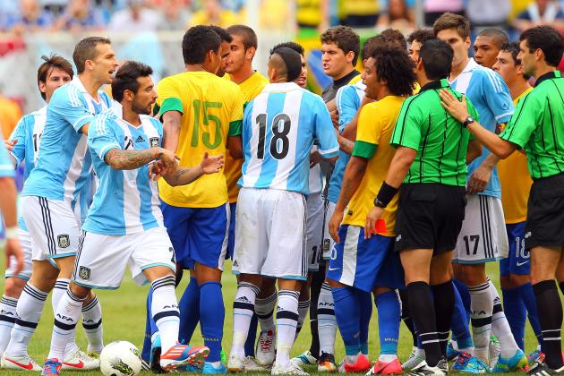 Argentina vs. Brazil: Playing out the Rivalry in 8 Matches