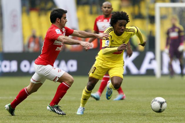 Chelsea Transfer News: Breaking Down What Willian Signing Means for Blues