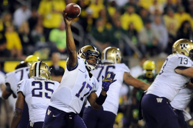 Washington's Young WRs Need to Step Up in Order for the Huskies to Thrive