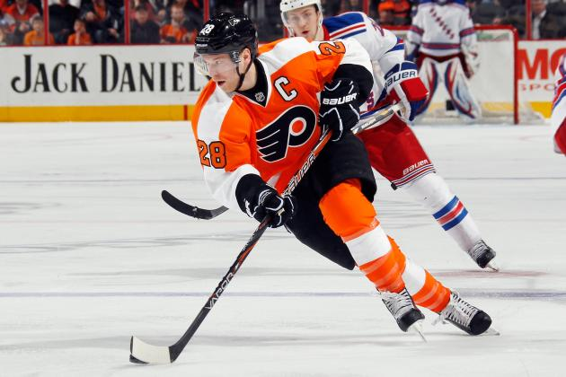 Change in Goal Difference in Philadelphia Flyers Lineup