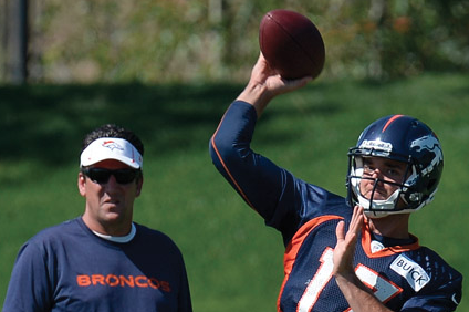 Brock Osweiler to See Heavy Workload as Broncos QB Against Cardinals