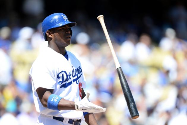 Yasiel Puig Removed from Today's Game for Disciplinaryreasons