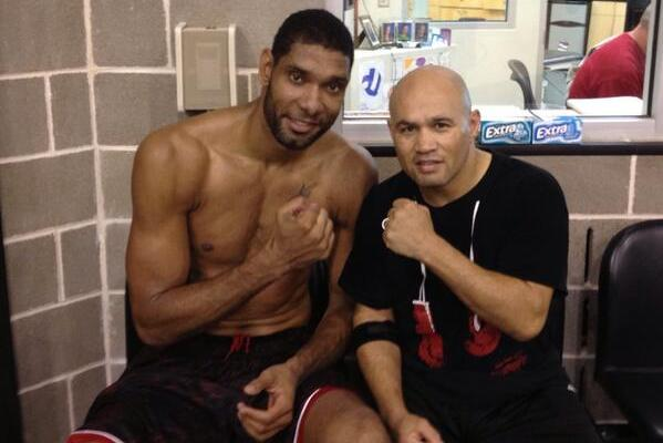 Photo: Tim Duncan Is Boxing and Looking Quite Svelte