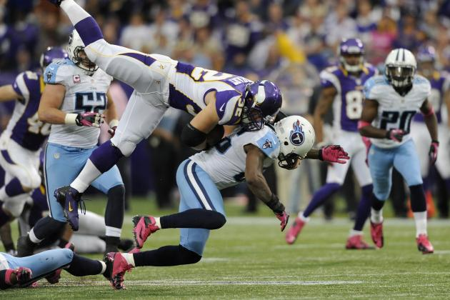 Titans vs. Vikings: TV Info, Spread, Injury Updates, Game Time and More