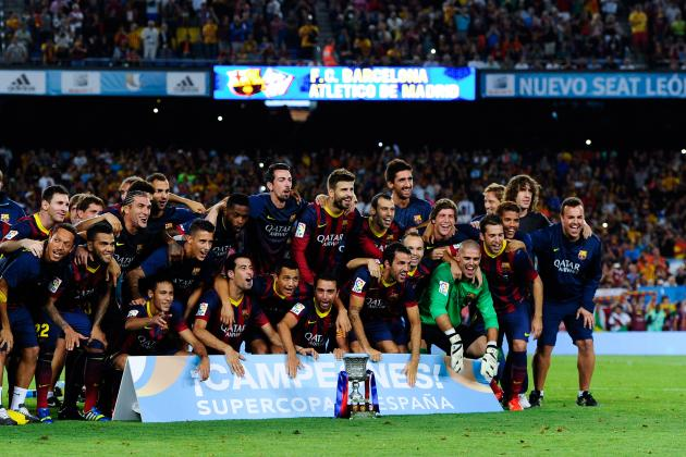 Barcelona vs. Atletico Madrid: Winning Trophy Doesn't Mask Barca's Ugly Win