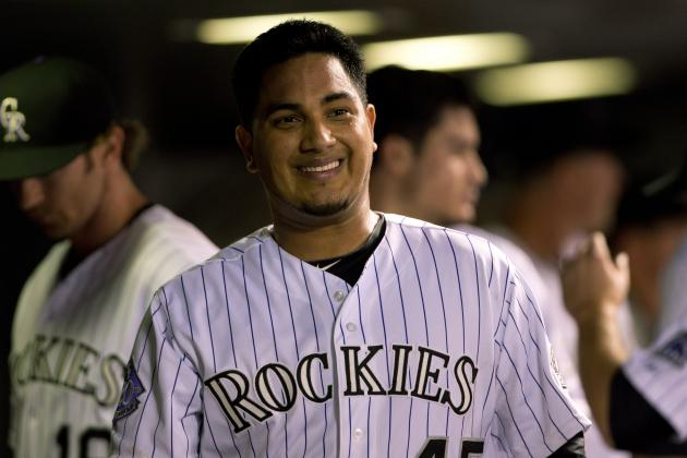 Jhoulys Chacin Takes No-Hitter into 7th, and Rockies Hold off Giants 5-4