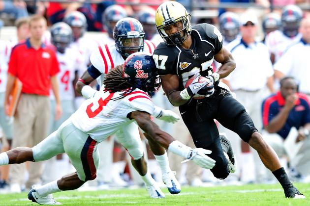 SEC Football: Ole Miss Rebels vs. Vanderbilt Commodores Preview and Predictions
