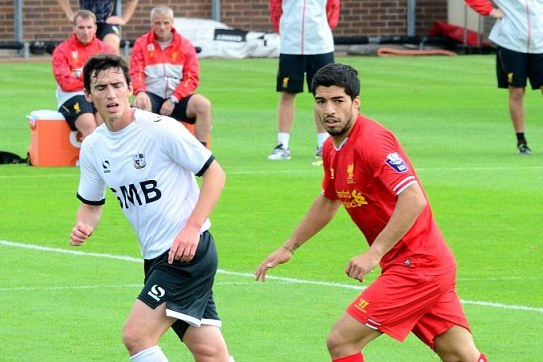 Luis Suarez Back in Liverpool Kit for Friendly, 2 More Transfers Expected