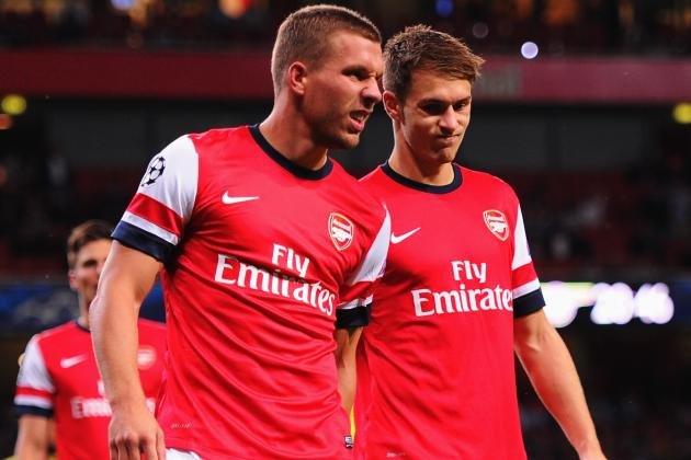 Arsene Wenger Provides Updates on Lukas Podolski, Aaron Ramsey and Jack Wilshere