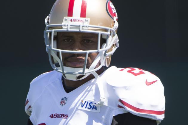 49ers' Asomugha to Be 1st Cornerback off Bench