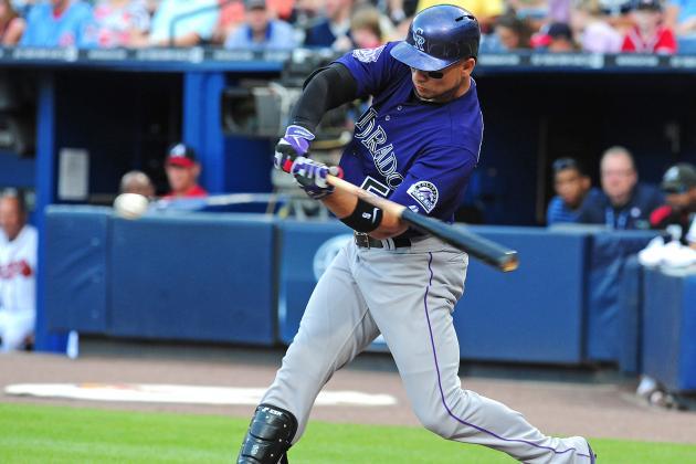 Rockies' Carlos Gonzalez Passes Batting Practice Test, Looks to Rehab