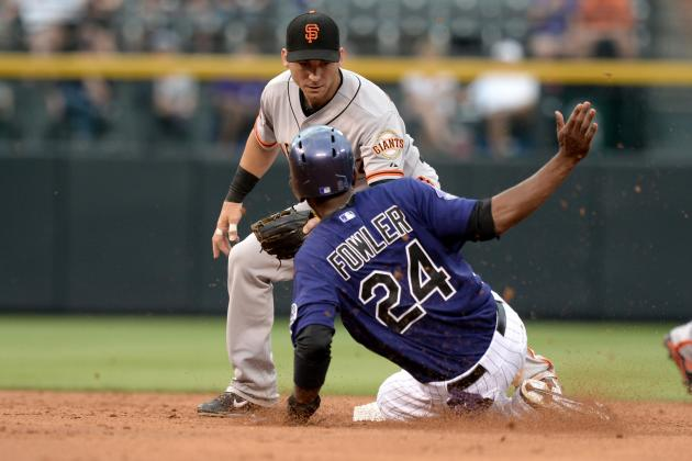 Dexter Fowler's Knee Injury Puts Him on Rockies' Bench for More Days