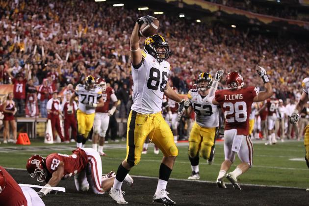 Tight Ends Could Have Big Role vs. Northern Illinois