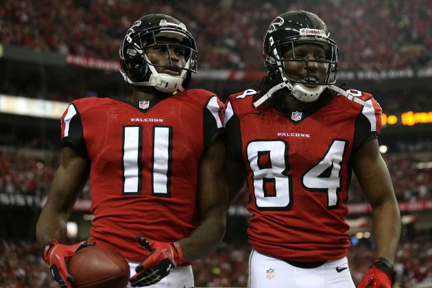 How Roddy White's Injury Affects Julio Jones' Fantasy Value for Week 1