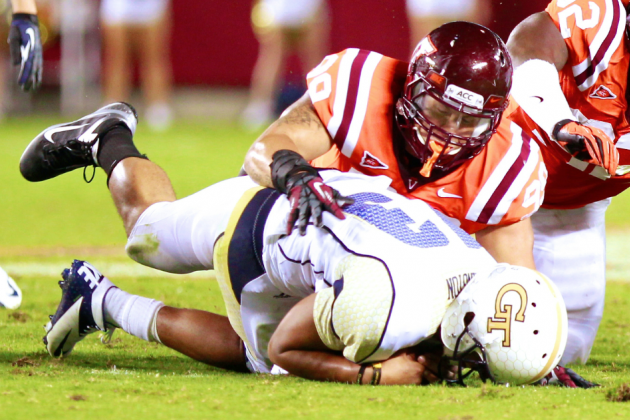 Alabama vs. Virginia Tech: What Hokies Must Do to Limit Tide's Rushing Attack