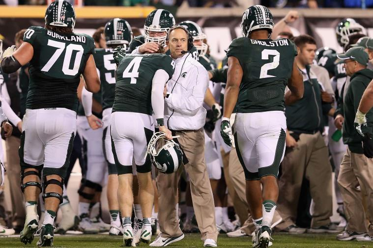 Does Michigan State Have Enough at Running Back to Contend in Big Ten?