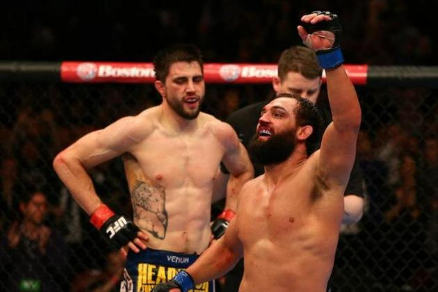 Carlos Condit Would Like Rematch with Johny Hendricks Next