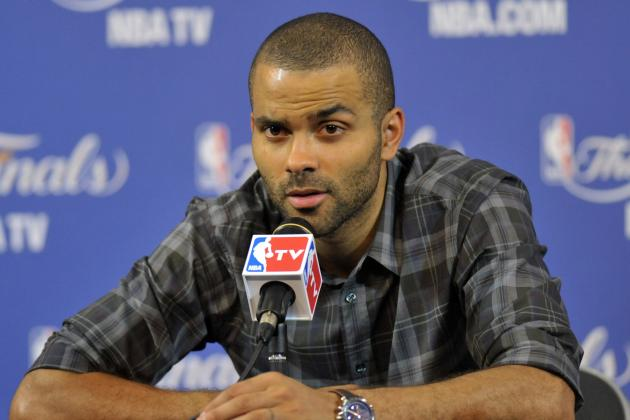 Tony Parker Announces His Retirement from Rapping
