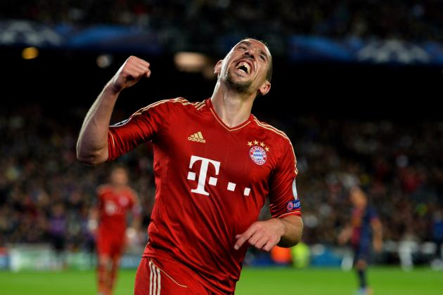 Franck Ribery Wins European Footballer of the Year Award