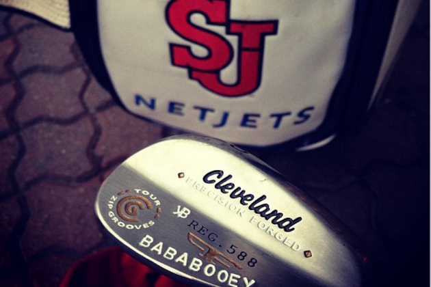 Keegan Bradley Puts 'Baba Booey' on His Wedge