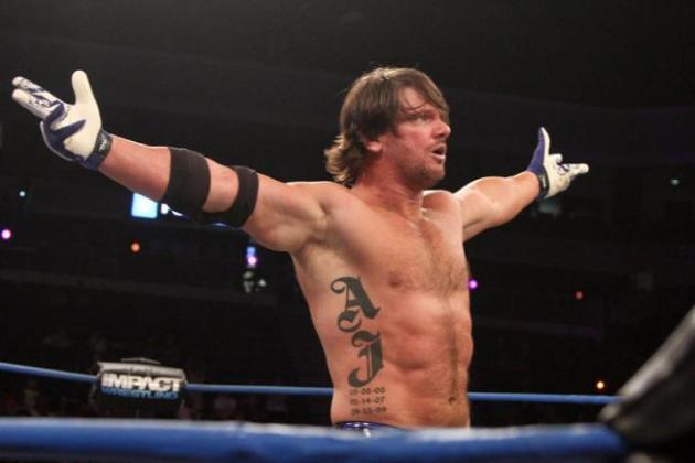 Report: WWE Not Interested in TNA Star A.J. Styles