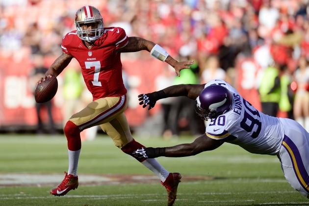 Colin Kaepernick Will Become More Balanced Quarterback in 2013