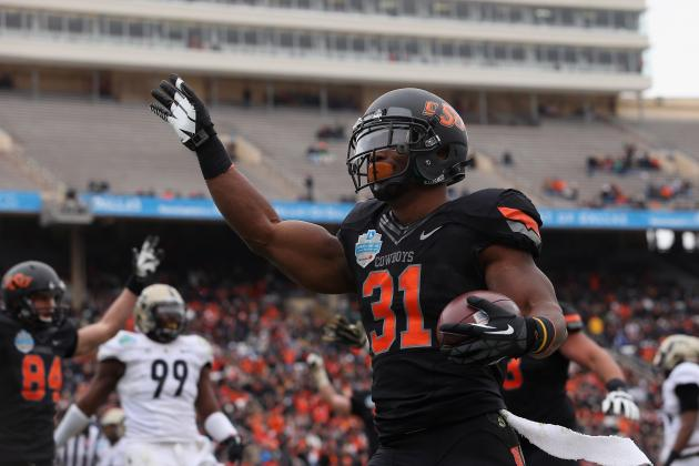 RB Jeremy Smith Glad He Stayed in Stillwater